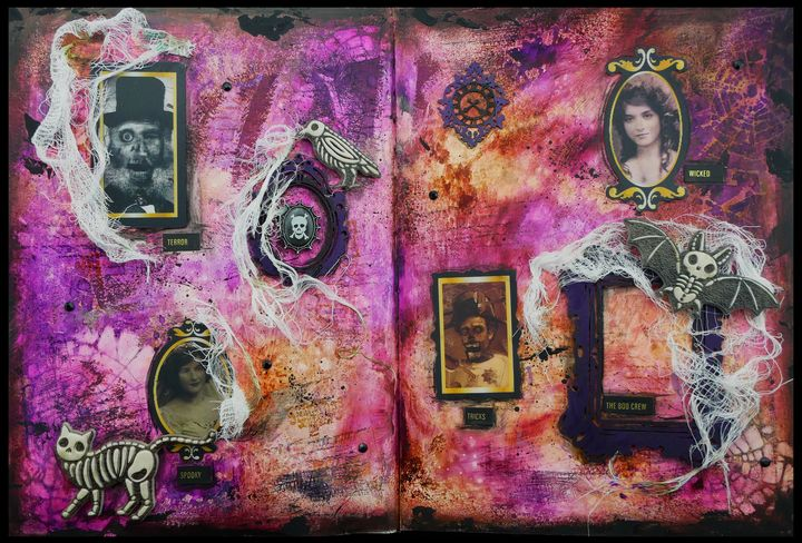 Boo Crew - Christine Newell • Left Side Art