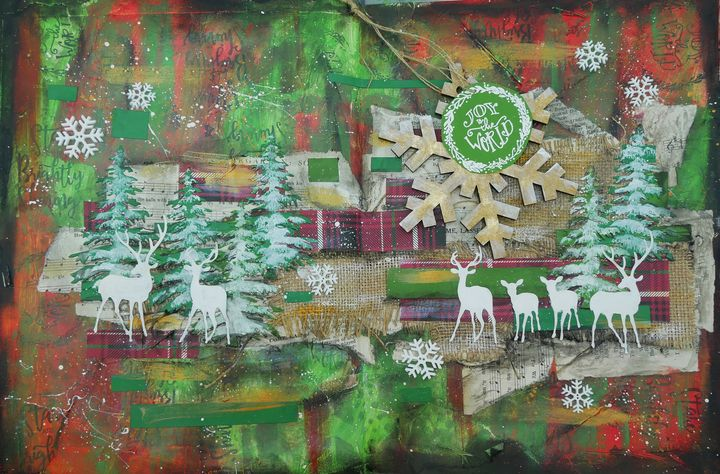 Joy to the World - Christine Newell • Left Side Art