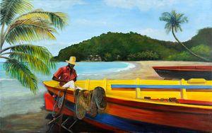 Pêcheur Antillais