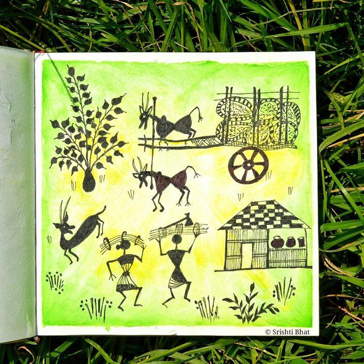 Warli Art - By Srishti
