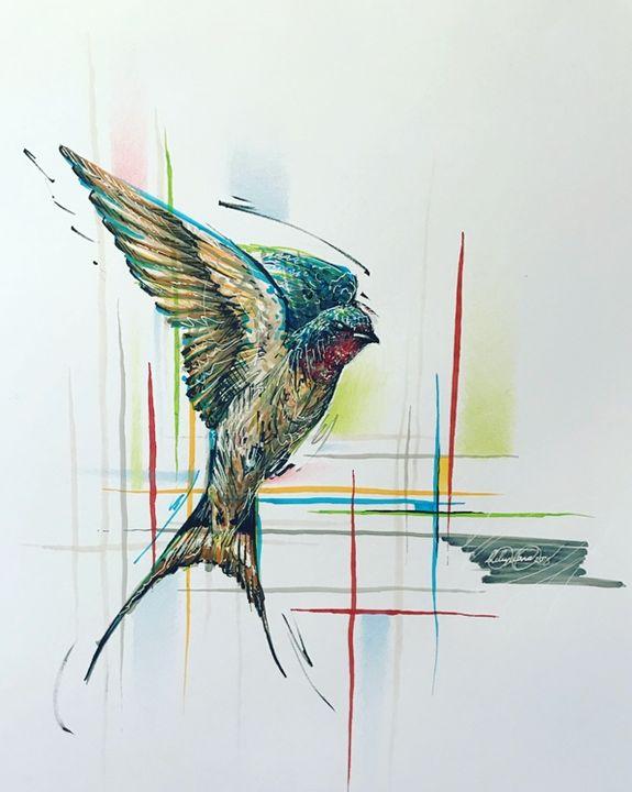 Swallow 1 - Marc Leyland Art