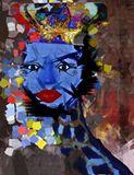 An abstract beautiful queen.