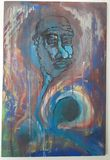 Original Psychedelic Oil painting