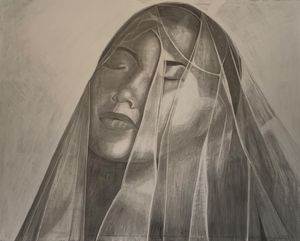 Veiled woman