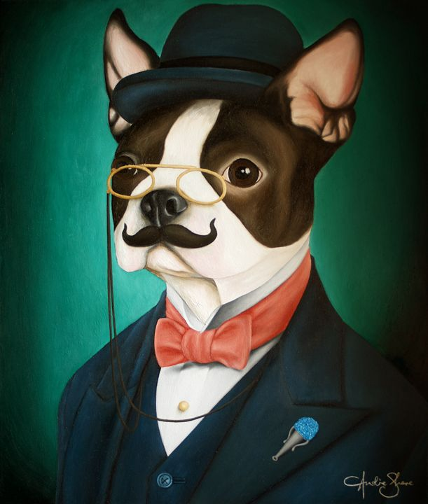 POIROT THE DOG - Andie Shore