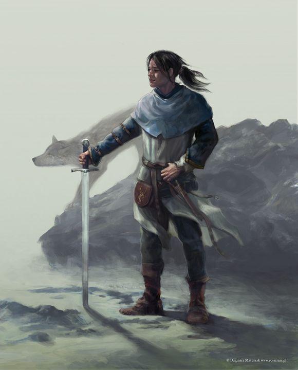 Fitz Chivalry - Dagmara Matuszak Fantasy Art