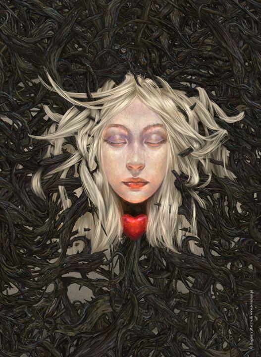 Sleeping Beauty - Dagmara Matuszak Fantasy Art