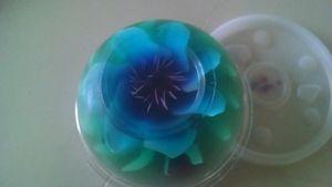 flor de gelatina