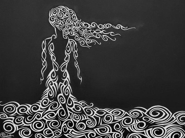 Winter Solstice - Simplexity Art Work by Rrafaela Monthei