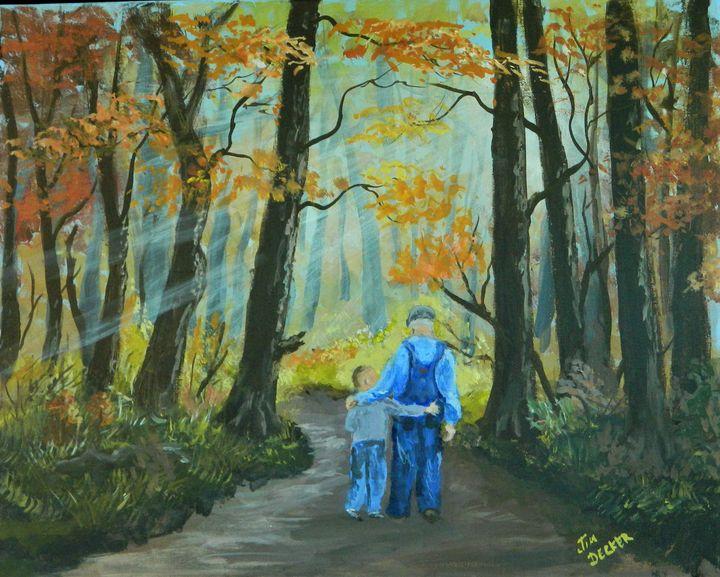 Grandfather Painting - jimdeckersartwork