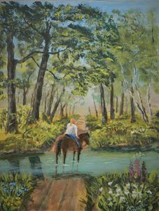 Girl On Horseback  { Afternoon Ride