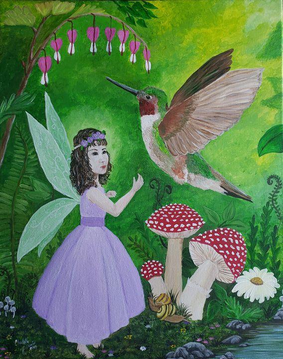 The Garden Fairy - Duron Arts