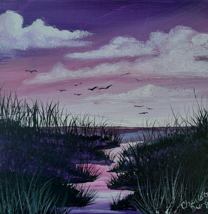 Sunset on the Marshlands - Duron Arts
