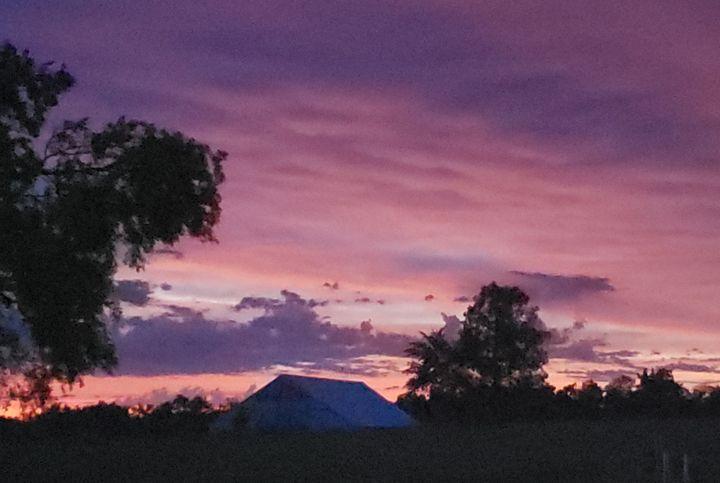 Pink Sky at Night - Duron Arts