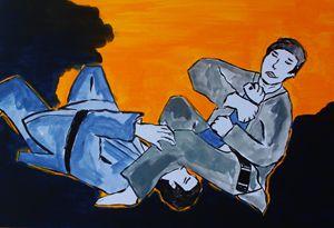 BJJ Arm Bar - Eve's art gallery