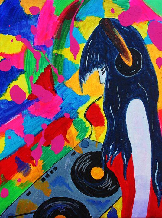 Deejay Girl - Eve's art gallery