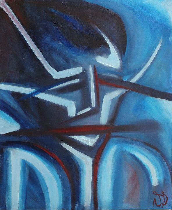 Sad Man - Vanessa T Stefanova - Paintings & Prints, People