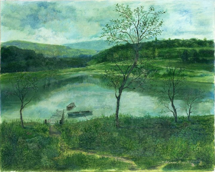 Breite See  [Widely lake] - Milan Andric
