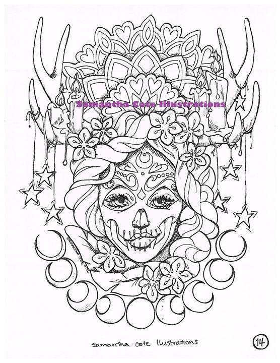 Page 14, Coloring Book - Samantha Cote Illustrations