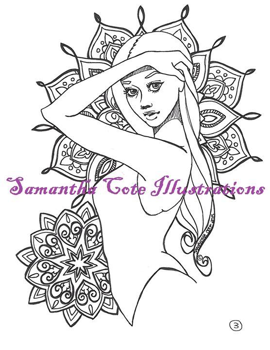 Page 3, Coloring Book - Samantha Cote Illustrations