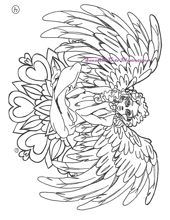 Page 4, Coloring Book - Samantha Cote Illustrations