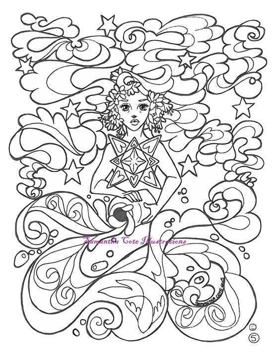 Page 5, Coloring Book - Samantha Cote Illustrations
