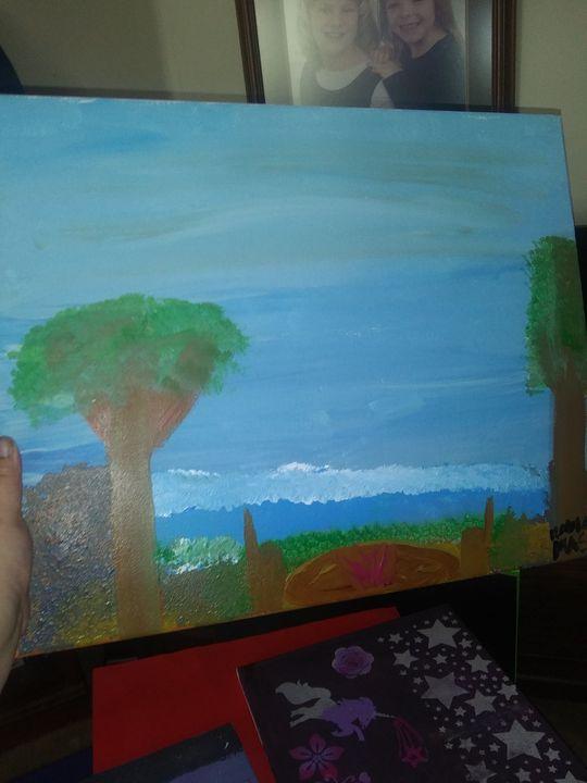 Beautiful sky - Kayla brooks Art