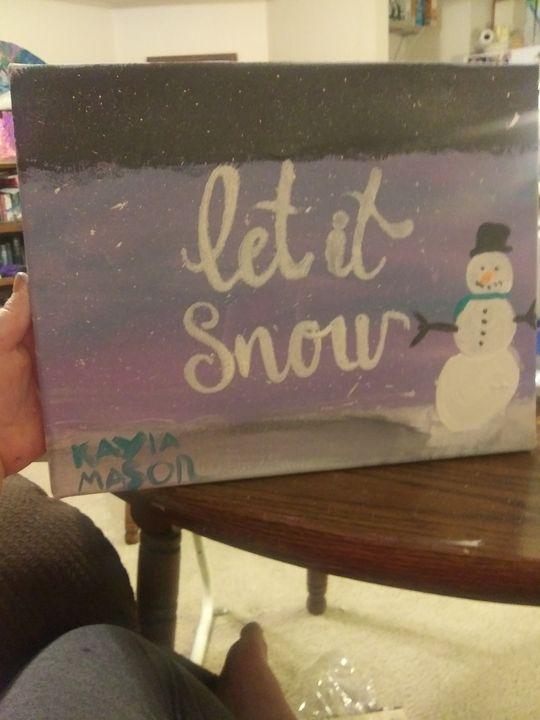Winter time - Kayla brooks Art