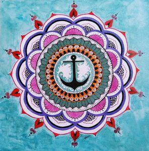 Anchor mandala