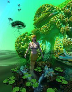 Fractal Mermaid - RIKKIHOP