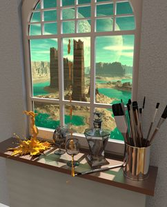 The View Through The Artists Window - RIKKIHOP