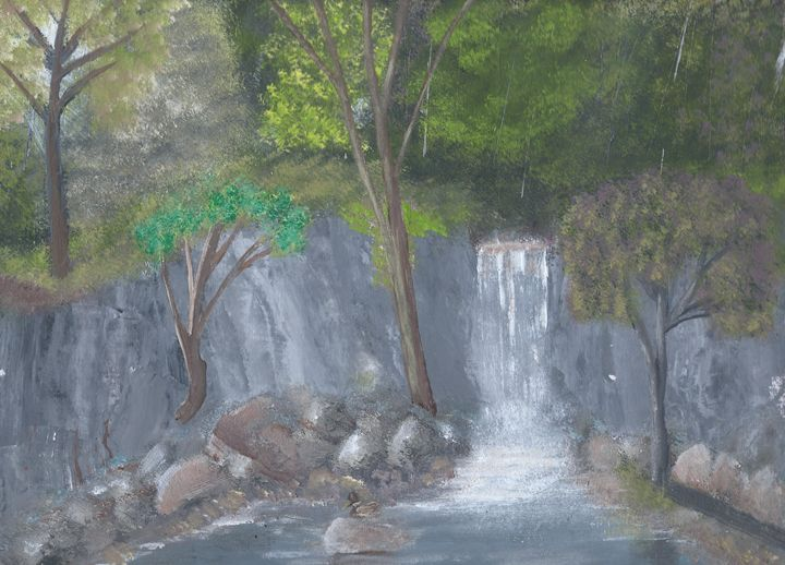 Secret Falls - $35 for Signed Orignl - James G