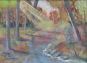 Autumn - $35.00 for Signed Original