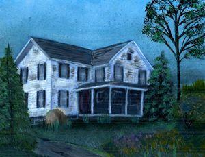Farmhouse - $35 for Signed Original