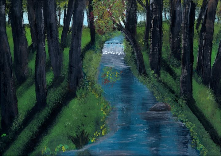 Wooded Creek - James G