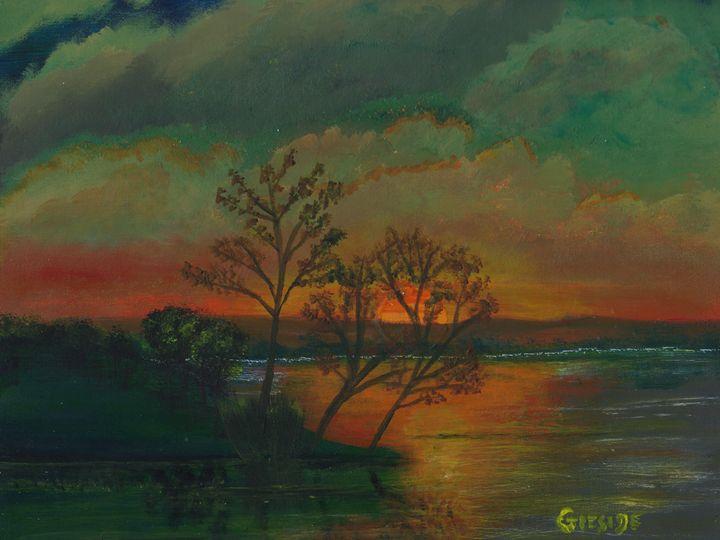 Lake Sunset - James G