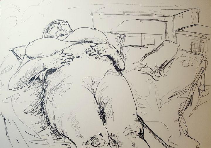 The Sleeping Woman - Natalie Hui