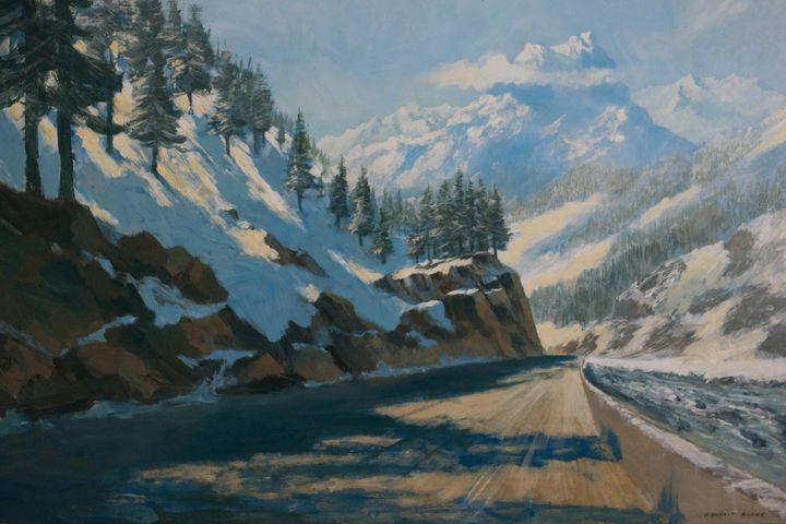 Alpine road - F. Donald Blake