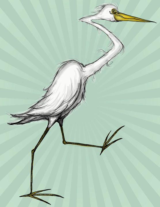 Egret - Rob O'Connor