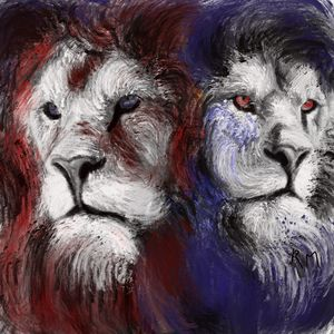 Two Faced Lion King