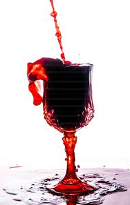 Wine Glass - Red