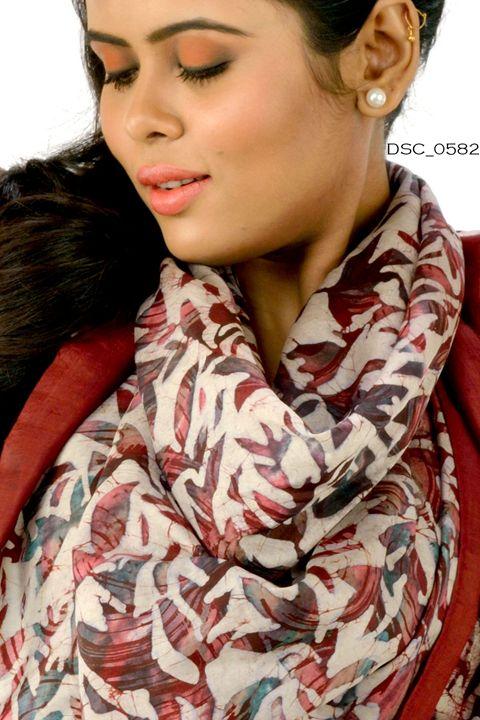 Hand Painted Silk Scarves - scarvesdesigner