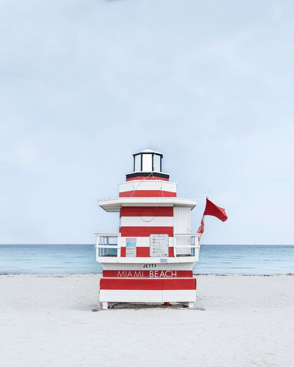 Miami Beach Hut Jetty - Andrea Bernal Photography