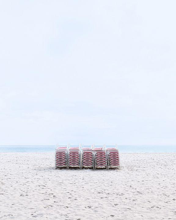 Miami Beach Chairs - Andrea Bernal Photography
