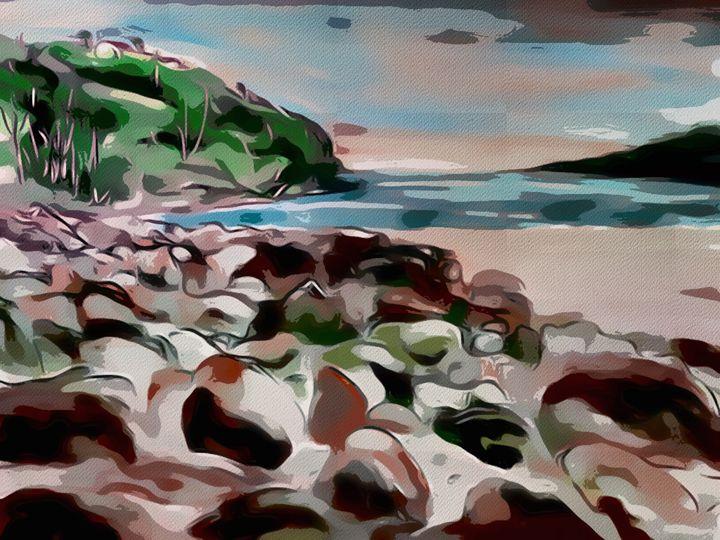 Sand Sea Sky - Karen Harding Artist