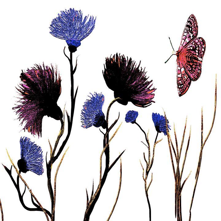 Flowery art - Karen Harding Artist
