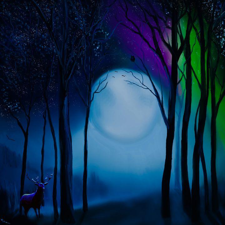 Full Moon - Karen Harding Artist