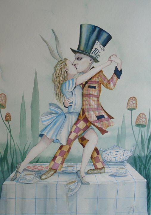 Last Tango in Wonderland - Dominic Murphy Art
