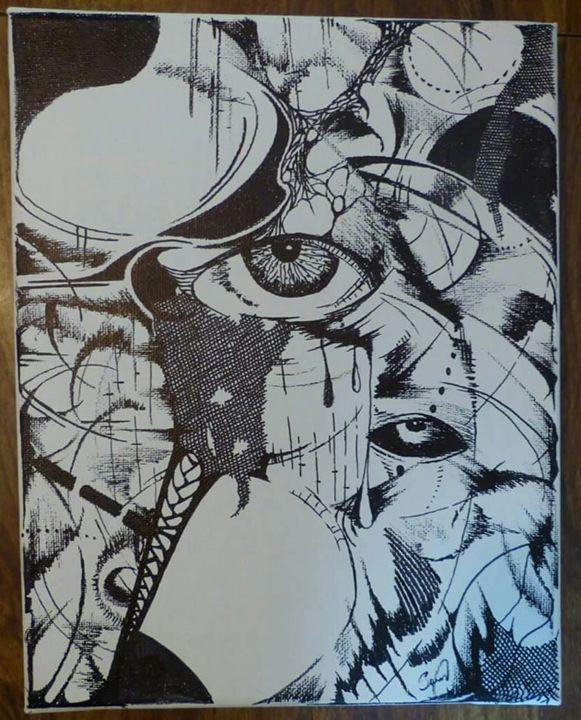 Eye over Eye - Abstract EYE