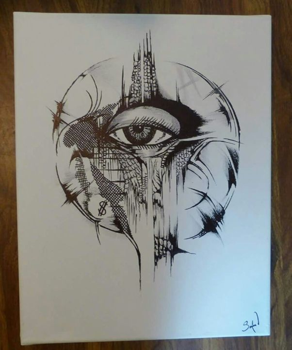 Eye of the surreal - Abstract EYE